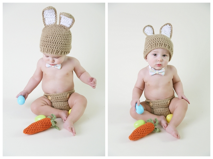 baby boy easter bunny outfit
