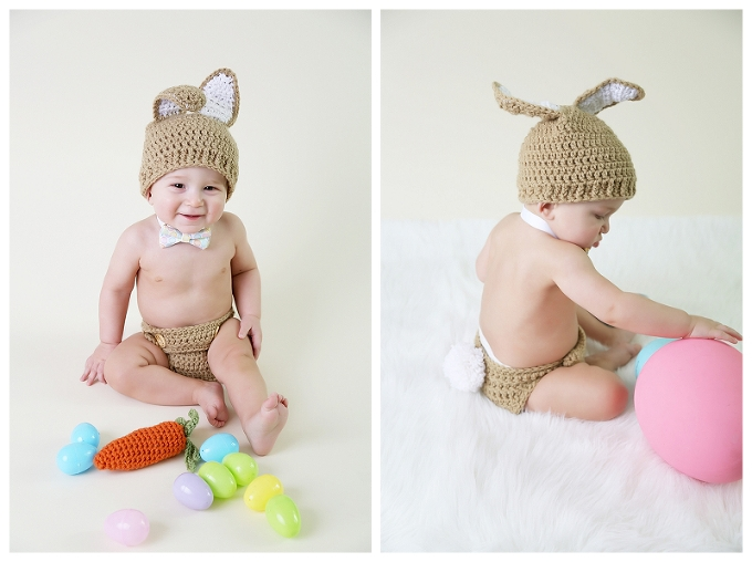 baby boy in etsy outfit