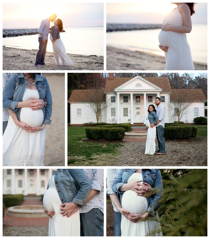 maryland maternity photographer Chesapeake bay portraits