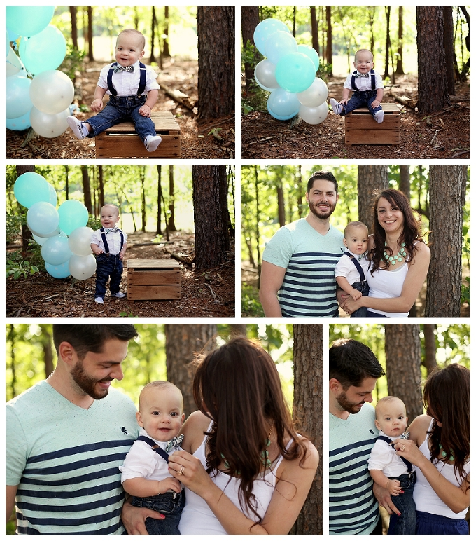 pasadena maryland family photographer rhett cake smash