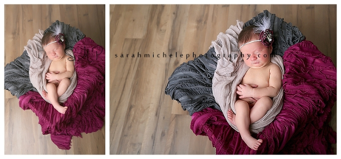 Annapolis Newborn Photographer | Dark colors