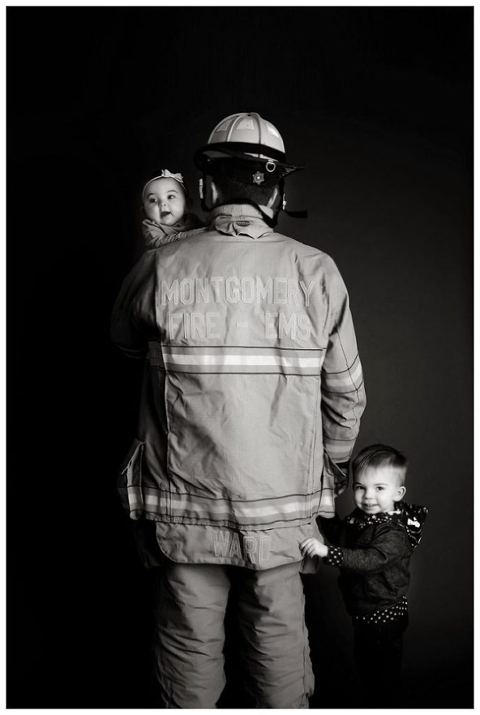Annapolis Family Photographer firefighter